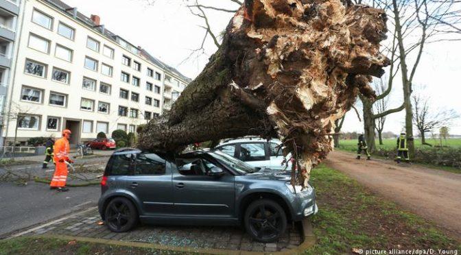 Pusztító vihar csapott le Németországra