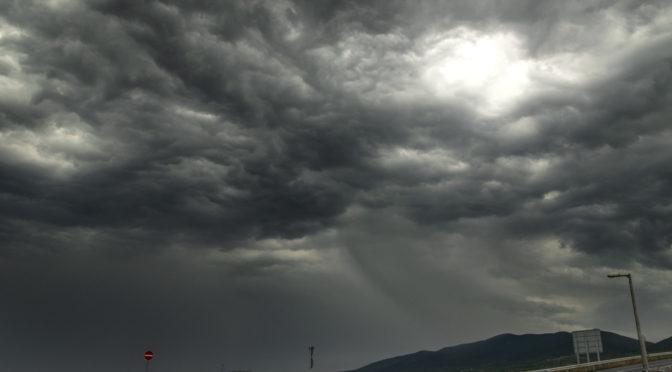 Kora reggeli zivatar kontrasztos felhőzete (2019.08.23.)