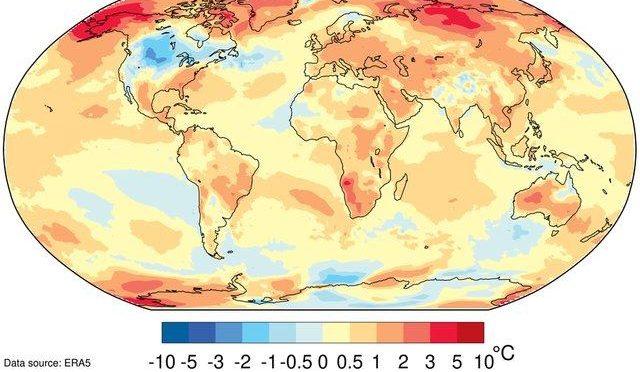 2019 egy kivételesen meleg és számos pusztító időjárási eseményt hozó évtized záró éve