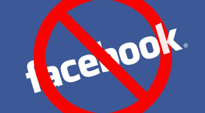 Facebook oldalunk megszűnik