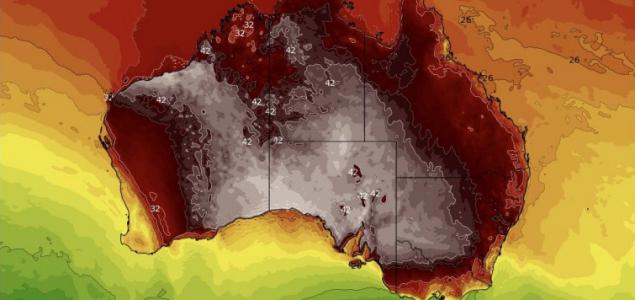 Eddigi legforróbb napjait élte át Ausztrália