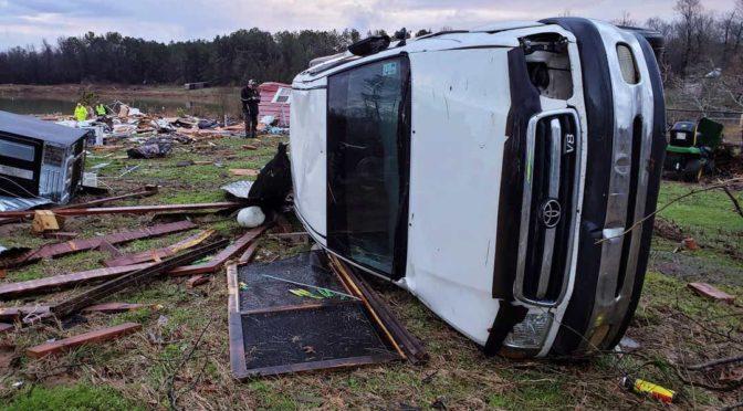 Alabama, Texas és Louisiana ostrom alatt – eső, szél és tornádó