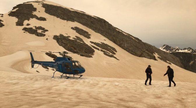 Új-Zélandon bebarnultak a gleccserek az ausztráliai bozóttűz füstjétől
