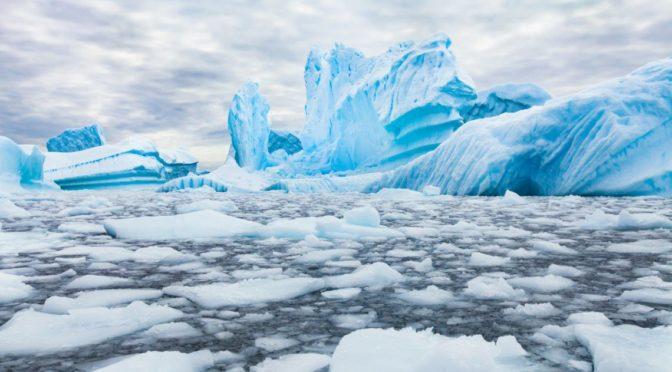 Veszélyesen meleg vizet találtak az Antarktisznál