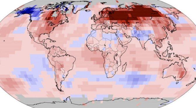 Az idei volt az elmúlt 141 év legmelegebb januárja