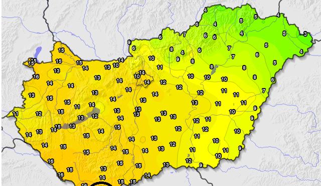 Megdőlt az országos és budapesti hőmérséklet napi rekordja (2020.01.31.)