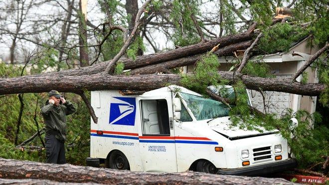 19 tornádót hozott egy vihar az USA területén