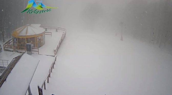 MEgkésett tél a hegyekben