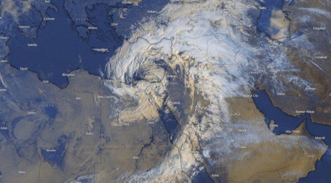 Harminc éve nem volt ekkora vihar Egyiptomban
