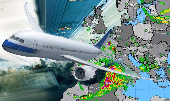 A repülő forgalom csökkenésének hatása az időjárás-előrejelzésekre