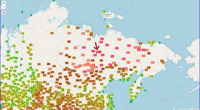 Melegrekord Szibériában: 38 fokot mértek szombaton Verhojanszkban