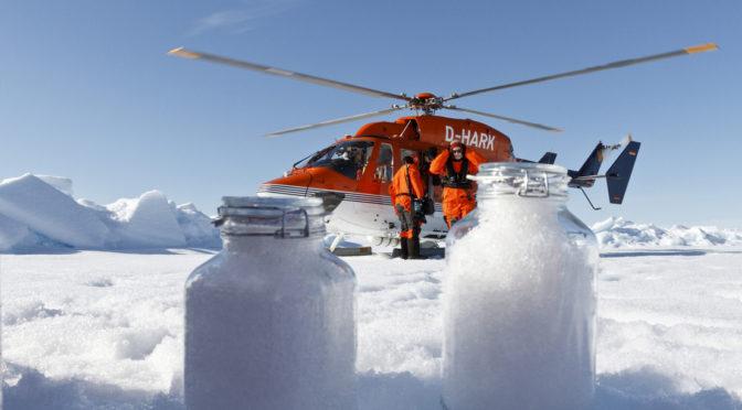 Mélypontra süllyedt a jégmezők kiterjedése júliusban az Északi-sarkvidéken