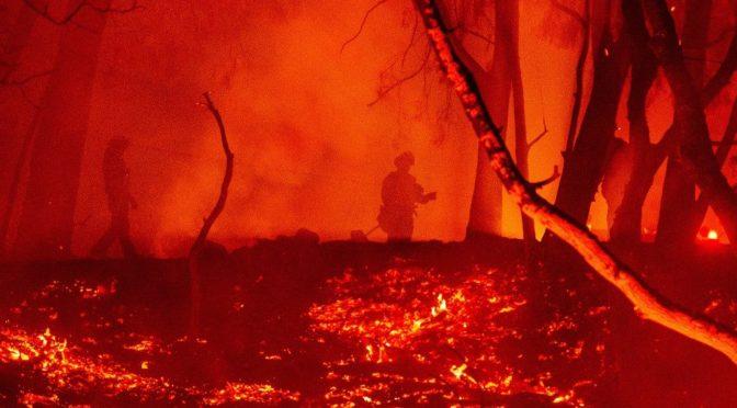 Soha nem égett még akkora területen Kalifornia, mint idén