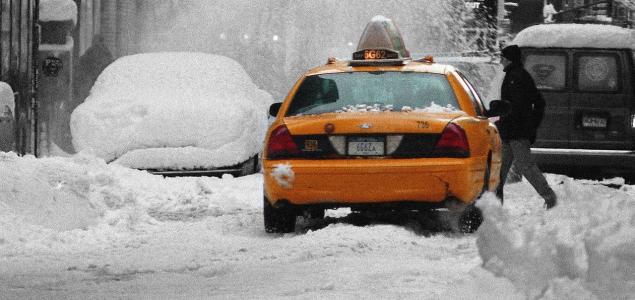 Méteres hó esett New York államban