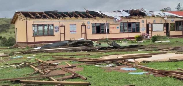 Történelmük legnagyobb vihara pusztított a Fidzsi-szigeteken