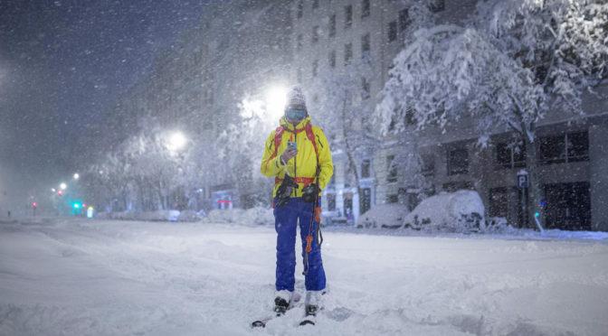 Több mint 20 centis hó borította be Madridot