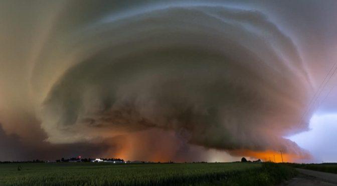Erőteljes viharok, szupercellák Európában (2021.június 18-20.)