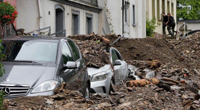 Európa a BernD ciklon okozta heves esőzések után (2021.07.12- )